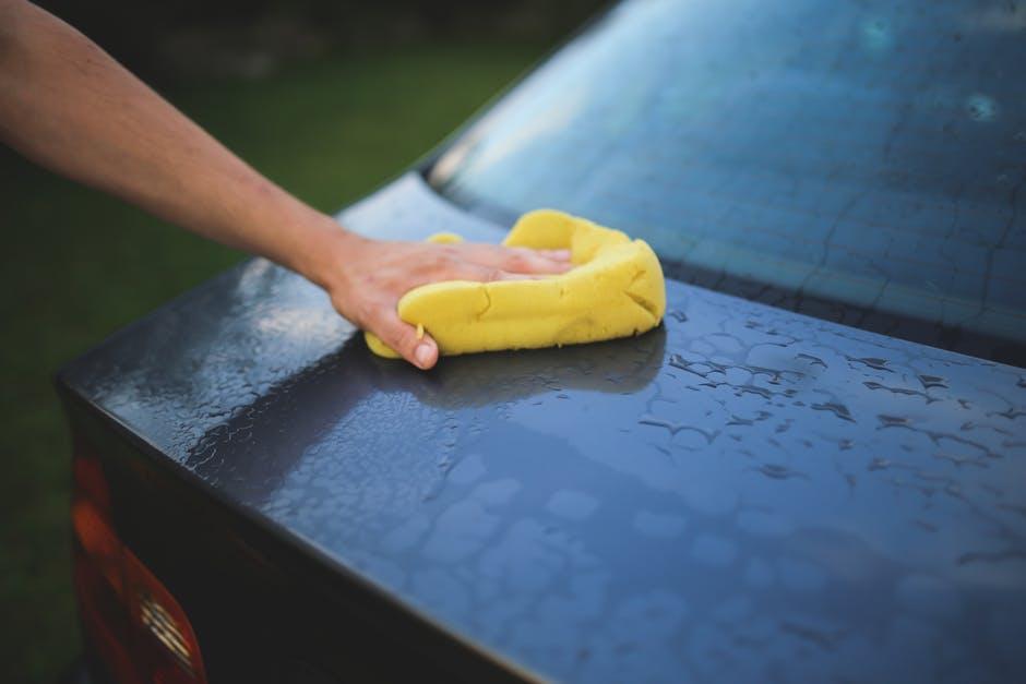 Auto wassen goed voor de verkoop